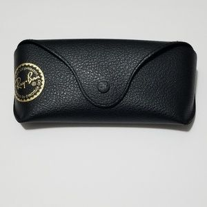 Ray-Ban Black Leather Sunglasses Case